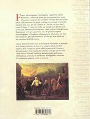 Genealogie rois de france - 4ème de couverture - Format classique