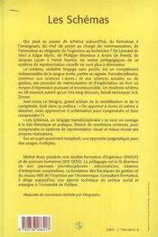 Les schémas - 4ème de couverture - Format classique