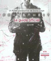 Fahrenheit guide officiel - Intérieur - Format classique