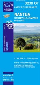Nantua ; Hauteville ; Lompnes; Nord Buguey ; 3230 OT - Couverture - Format classique