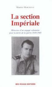 La section imperiale - Intérieur - Format classique