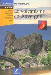 Le volcanisme en Auvergne - Intérieur - Format classique