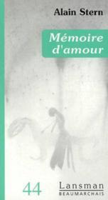 Memoires d'amour - Couverture - Format classique