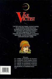 Vae victis T.6 ; Bodicae la guerrière folle - 4ème de couverture - Format classique