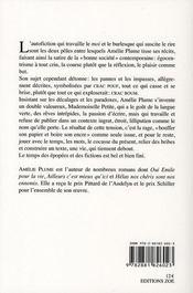 Mademoiselle Petite au bord du Saint-Laurent - 4ème de couverture - Format classique