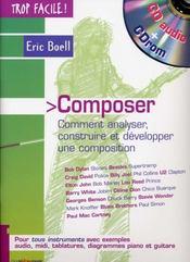 TROP FACILE ; composer - Intérieur - Format classique