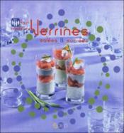 Verrines salées et sucrées - Couverture - Format classique