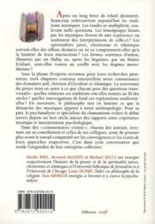 L'union mystique dans le judaïsme, le christianisme et l'islam - 4ème de couverture - Format classique