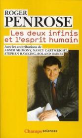 Les deux infinis et l'esprit humain - Couverture - Format classique