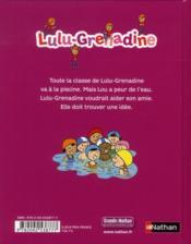 Lulu-grenadine aime la piscine - 4ème de couverture - Format classique