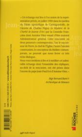 Jean-Paul II / Antoine Vitez ; Castelgandolfo 88 - 4ème de couverture - Format classique