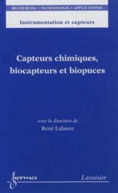 Capteurs chimiques biocapteurs et biopuces instrumentation et capteurs rta - Couverture - Format classique
