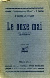 Le Onze Mai. Collection : Les Documents Bleus N° 9 - Couverture - Format classique