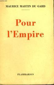 Pour L'Empire. - Couverture - Format classique