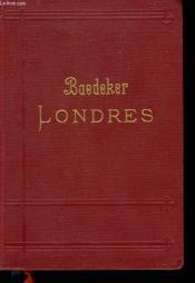Londres Et Ses Environs. Manuel Du Voyageur. - Couverture - Format classique