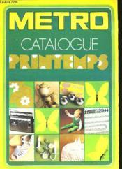 Metro Catalogue - Couverture - Format classique