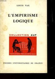 L'Empirisme Logique - Couverture - Format classique