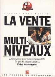 La Vente Multi Niveaux - Couverture - Format classique