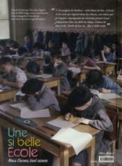Une si belle école ; nous l'avons tant aimée - 4ème de couverture - Format classique