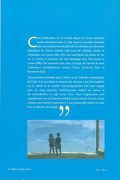 Voix Off T.8 ; Le Cinéma Cubain ; Identité Et Regards De L'Intérieur - 4ème de couverture - Format classique