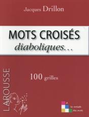 Mots croisés diaboliques ... - Couverture - Format classique