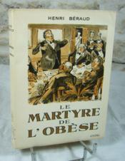 Le martyre de l'obèse. - Couverture - Format classique