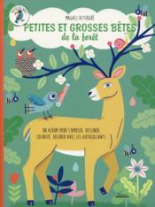 Petites et grosses bêtes de la forêt - Couverture - Format classique