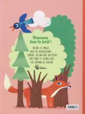 Petites et grosses bêtes de la forêt - 4ème de couverture - Format classique