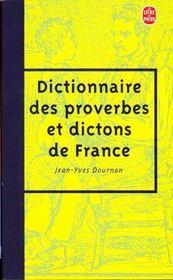 Le dictionnaire des proverbes et des dictons de France - Intérieur - Format classique
