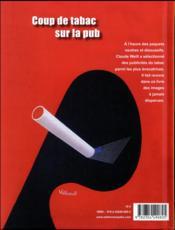 Coup de tabac sur la pub - 4ème de couverture - Format classique