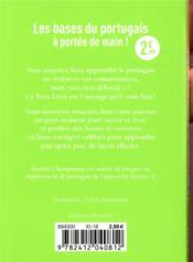 Le portugais en 5 minutes par jour - 4ème de couverture - Format classique