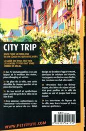 GUIDE PETIT FUTE ; CITY TRIP ; Lyon (édition 2021) - 4ème de couverture - Format classique