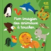 Mon grand imagier des animaux à toucher - Couverture - Format classique