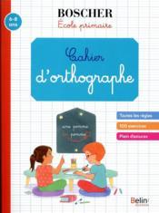 Cahier d'orthographe - Couverture - Format classique