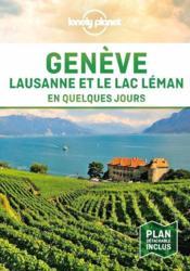 Genève, Lausanne et le lac (édition 2021) - Couverture - Format classique