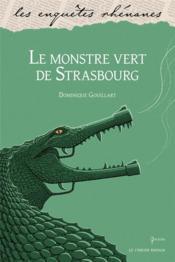 Le monstre vert de Strasbourg - Couverture - Format classique