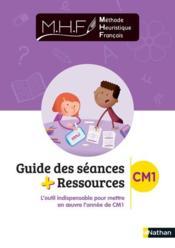 Mhf - guide des seances + ressources cm1 - Couverture - Format classique