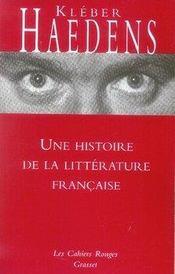 Une histoire de la littérature française - Intérieur - Format classique