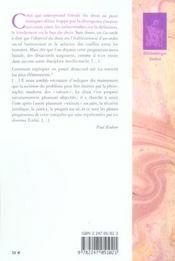 Theorie generale du droit - 4ème de couverture - Format classique