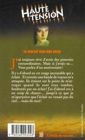 Haute Tension T.6 ; Le Courant Dans Mon Corps - 4ème de couverture - Format classique