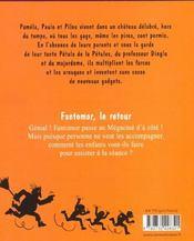 Les Petules Fantomor Le Retour - 4ème de couverture - Format classique