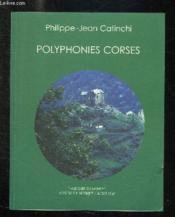 Polyphonies Corses (+ 1cd Gratuit) - Couverture - Format classique