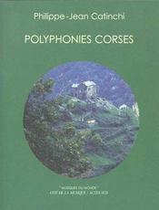 Polyphonies Corses (+ 1cd Gratuit) - Intérieur - Format classique