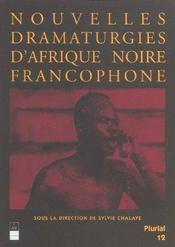 Nouvelles dramaturgies d'afrique noire francophone - Intérieur - Format classique