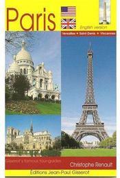 Gisserot's famous tour-guides ; Paris - Couverture - Format classique