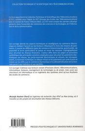 Paiements électroniques sécurisés - 4ème de couverture - Format classique