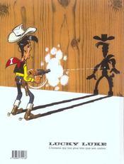 Lucky Luke T.32 ; la diligence - 4ème de couverture - Format classique