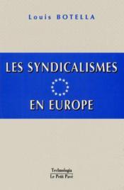 Les syndicalismes en europe - Couverture - Format classique