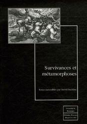 Survivances et métamorphoses - Intérieur - Format classique