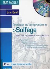 TROP FACILE ; pratiquer et comprendre le solfège - Intérieur - Format classique